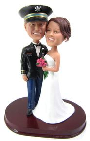 Army Officer Wedding Cake Topper Custom Toppers For Military Couples