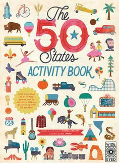 (Quarto) Pack your bags and take the journey of a lifetime with this activity book packed with maps, wildlife, people and places unique to America' s 50 states. As a summer companion title to The 50 States, activities include state trivia, picture scrambles, dot-to-dots, plus a double-sided fold-out map and more than 50 stickers.