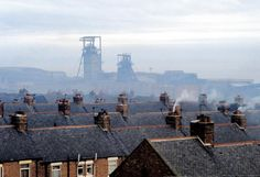 The Colliery - Easington, Durham. Closed and Demolished in 1992 thanks to Maggie Thatcher.