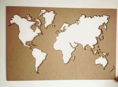 Mapa mundi, corte láser en mdf! 🌎 #mapa #mapamundi #cortelaser #lasercut #lasercutting #mdf #madera #diseño #decoración #design #manizales