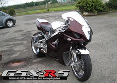 2003 GSXR 1000   Purple