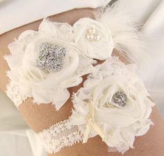 Vintage Inspired Bridal Garter