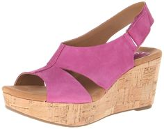 Clarks Women's Caslynn Lizzie Wedge Sandal ^^ Wow! I love this. Check it out now! : Wedge sandals