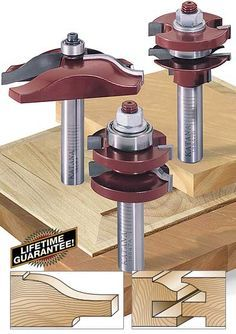 katana raised panel door router bit set