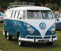 Classy and classic VW van... #cars #vw #70s #fun
