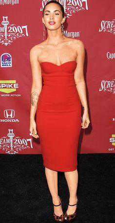Megan Fox in Calvin Klein, 2007 ( <3 the dress, not the model ;)