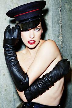Milla Jovovich photographed by Ellen von Unwerth