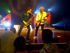 Tom and Mick of Foreigner