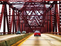 Avoid this bridge in Jacksonville Florida. Its notoriously scary. The Mathews Bridge. Take an alternate route! Florida City, Jacksonville Florida, Gulf Of Mexico, Condos For Sale, Oh The Places You'll Go, Bridges, Decks, Beaches, The Good Place