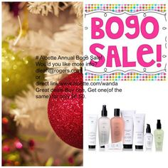 Bogo Sale! It's that time of year again when we offer our fabulous Aloepure Skin Care for Sale .