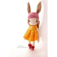 «#bunny love♥#doll Sending out Peace & Good vibes to all♥ #kessedjiandoll #crochet #shoes inspired by talented ms. @kikalite ♥»