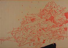 Graeme Todd Rosetta, 2015 Mixed Media 16 1/2 x 11 3/4 in. (41.91 x 29.85 cm) - Bridgette Mayer Gallery