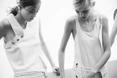 Behind the scenes at Paco Rabanne Spring 2015