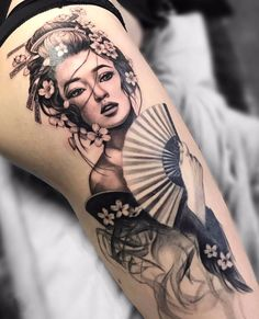 ~ Geisha ~ Best Picture For Tattoo family For Your Taste You are looking for something, and it is going … Japanese Tattoo Symbols, Japanese Tattoo Art, Japanese Tattoo Designs, Japanese Sleeve Tattoos, Japanese Tattoo Women, Japanese Art, Japanese Geisha, Geisha Tattoo Design, Geisha Tattoos