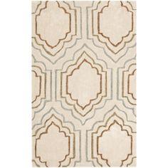 Handmade Avant-garde Morocco Beige Rug (3' x 5') | Overstock.com Shopping - Great Deals on Safavieh 3x5 - 4x6 Rugs