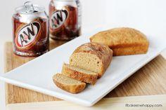 It Bakes Me Happy: Cinnamon Sugar Root Beer Bread