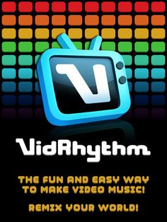 VIDRHYTHM.  Follow simple well-paced instructions to record your own samples, and then the program makes them into a fun video.  Lots of styles to choose from, with cool video effects.  Amazing for getting autistic students to interact and have fun with the iPad.  #ipadmusicapps ~ Free.