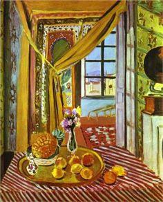 Interior with Phonograph - Henri Matisse