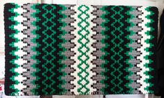 Custom Black, Kelly Green & Ash Show Pad – The Bling Boutique