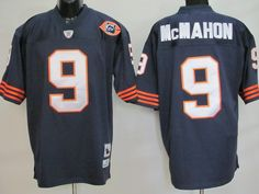 I need me a Jim McMahon Jersey....Mitchell and Ness Chicago Bears 9 Jim McMahon Blue With Big Number Stitched Throwback NFL Jersey:$21
