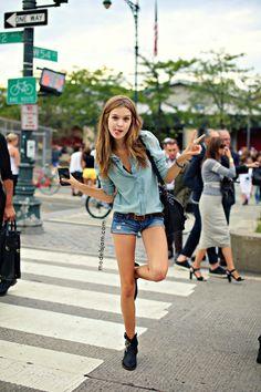Josephine Skriver, New York, September 2013
