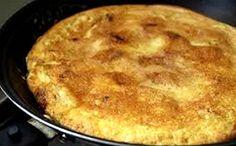 Torta de frango na frigideira