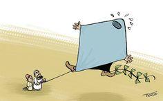 Humorcillo en la red: La Burka cometa