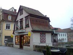 Little Bridge House, Esslingen, Germany Austria, Switzerland, Bridge, Germany, Memories, Spaces, Mansions, House Styles, Beautiful