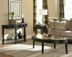beaugrand contemporary wood x - base pedestal sofa table | home