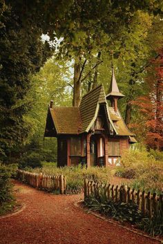 Whimsical; would love to see the inside.
