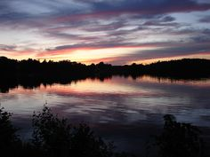 Pleasant Lake, Casco, Maine by bobtravis, via Flickr