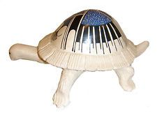 "Mata Ortiz Pottery Unique Turtle Effigy by DULCES MELERO 7.5"" x 5"""