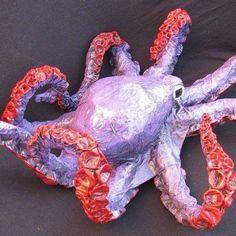 pandora's paper mache octopus