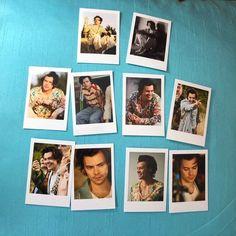 Harry Styles Polaroids Set of 10 mini vintage style Mini Polaroid, Vintage Polaroid, Polaroid Photos, Celebrities Reading, Harry Styles Merch, Neat Handwriting, 13 Birthday, Birthday Wishlist, Harry Styles Pictures