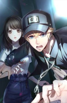 Anime Couples Awwww he's protecting her! So Boody CUTE Anime Cupples, Fanarts Anime, Hot Anime Boy, Anime Naruto, Kawaii Anime, Anime Love Couple, Manga Couple, Anime Couples Manga, Cute Anime Couples