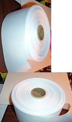 """3//4/"""" DOUBLE FACE SILK SATIN RIBBON-BY THE YD CREAM # 8"""