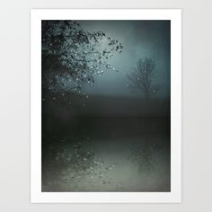 Song of the Nightbird Art Print by M✿nika Strigel | Society6
