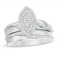 Sterling Silver Diamond Rings, Silver Diamonds, Colored Diamonds, 925 Silver, Diamond Stone, Diamond Clarity, Marquise Diamond Settings, Bridal Sets, Jewelry Trends