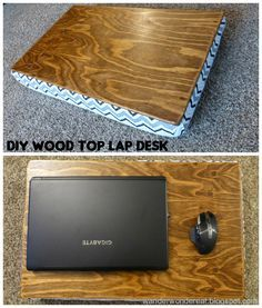 DIY Wood Top Lap Desk   Learn How To Make This Super Useful Lap Desk With
