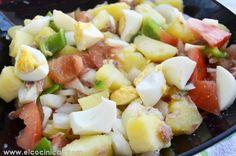 Ensalada campera Fruit Salad, Potato Salad, Side Dishes, Salads, Cooking, Ethnic Recipes, Food, Summer Salads, Cooking Recipes