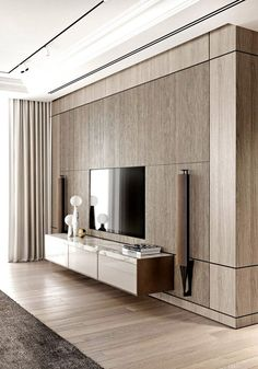 Home Stairs Design, Tv Wall Design, Home Room Design, Tv Wanddekor, Modern Tv Wall Units, Marble Interior, Living Room Tv Unit Designs, Rustic Home Interiors, Luxurious Bedrooms
