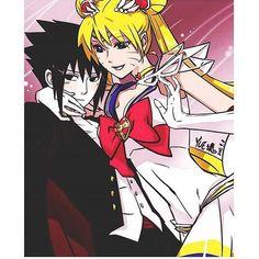 Aw sasuke & naru ❤️