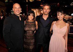 <p>The original team — Vin Diesel, Michelle Rodriguez, Paul Walker, and Jordana Brewster — reunite for the fourth installment of the <em>Fast</em> franchise. (Photo: Kevin Winter/Getty Images) </p>
