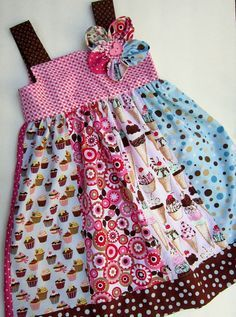Items similar to Ultimate Birthday Dress--Ready to Ship--Size 7 on Etsy - Gabriele Armbruster - Items similar to Ultimate Birthday Dress--Ready to Ship--Size 7 on Etsy Ultimate Birthday DressReady to ShipSizes 5 & 7 by gumdroptree - Frocks For Girls, Little Dresses, Little Girl Dresses, Baby Dresses, Girls Dresses, Girls Frock Design, Cotton Frocks, Baby Frocks Designs, Baby Girl Dress Patterns