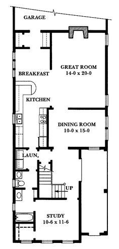 Charleston Charm (HWBDO64080) | Adam - Federal House Plan from BuilderHousePlans.com