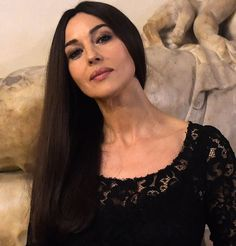 Le brushing parfait de Monica Bellucci