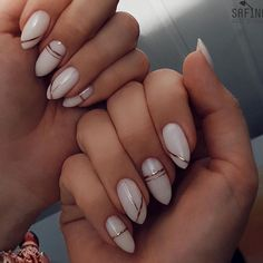 Here are 50 beautiful attractive nail designs for women who will marry 201 . - Nail Art Ideas Here are 50 beautiful attractive nail designs for women who will marry 201 . - Nail Art Ideas, nails H Cute Acrylic Nails, Cute Nails, Pretty Nails, Fancy Nails, Milky Nails, Bridal Nail Art, Bride Nails, Wedding Nails, Minimalist Nails