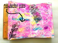 Usually I post a finished art journal layout for my weekly 15 MINUTES OF MIXED MEDIA , but this we...