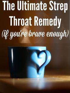 This strep throat remedy sounds crazy, but the author actually used it to cure (diagnosed!) strep throat while pregnant and wanting to avoid antibiotics. It worked incredibly well! A sore throat remedy. Cold Remedies, Natural Home Remedies, Natural Healing, Herbal Remedies, Health Remedies, Strep Throat Remedies Natural, Strep Remedies, Au Natural, Holistic Remedies
