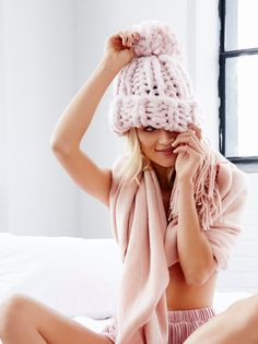 Winter hats · Bobbi Chunky Pom Beanie  9eea5f4d58c8